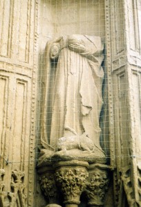 Exeter Cathedral-statue